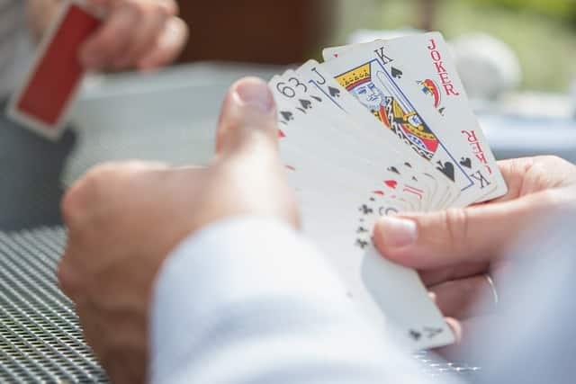 une Ante au Poker
