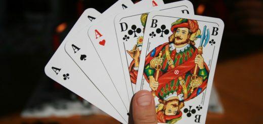 brelan au poker